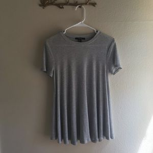 Forever 21 ribbed tunic top